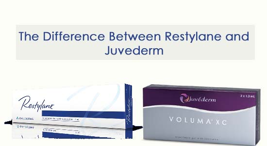 The Difference Between Restylane and Juvederm